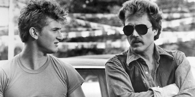 Sean Penn and Christopher Walken in At Close Range.